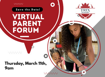 Trix Virtual Parent Forum March 11